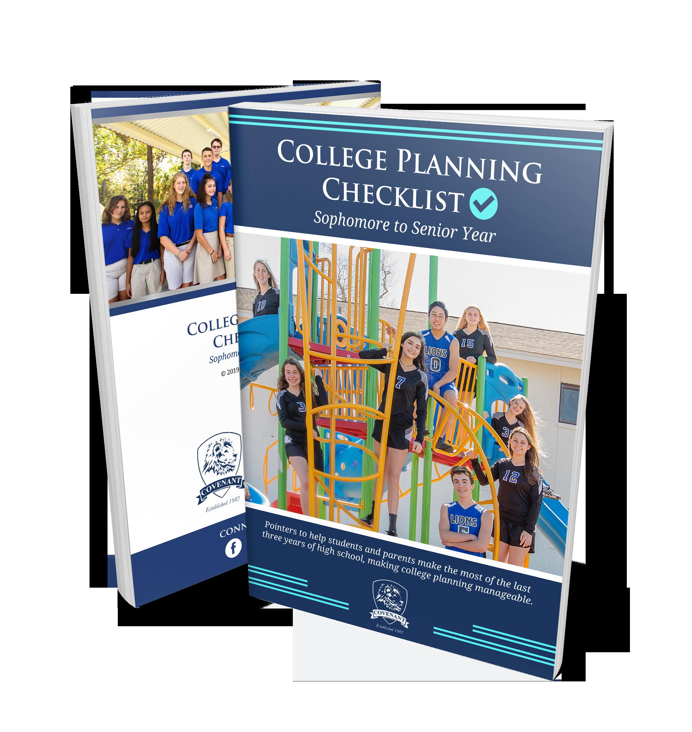 College Planning Checklist: Sophomore to Senior Year